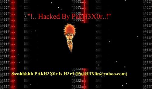 Hakovan server sa 335 web sajta