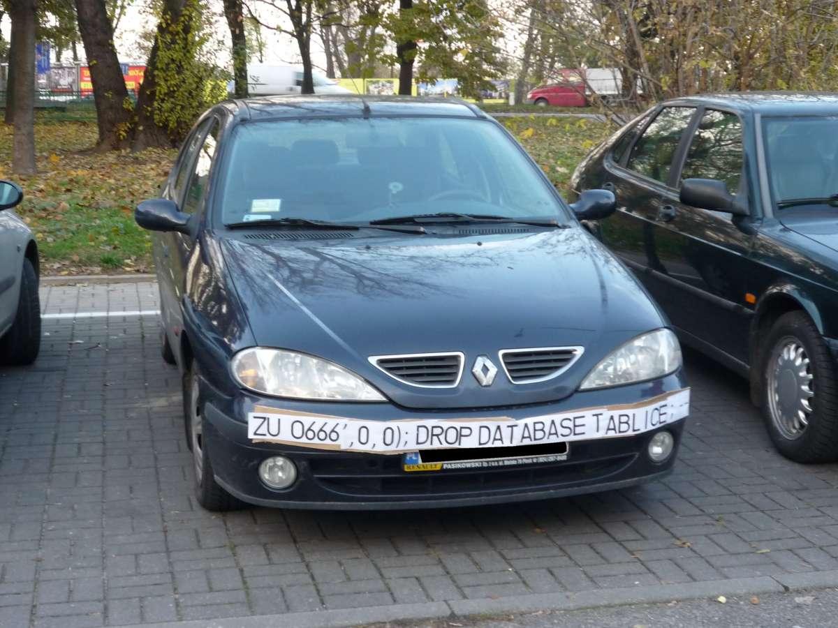 SQL injection u borbi protiv saobraćajnih kamera!