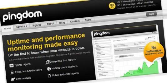 "pratite ""uptime"" i performanse vašeg sajta"