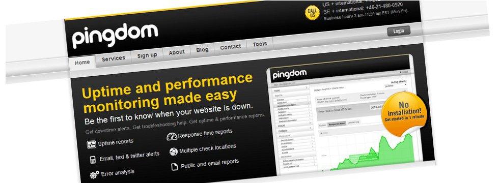"Pingdom – pratite ""uptime"" i performanse vašeg sajta"