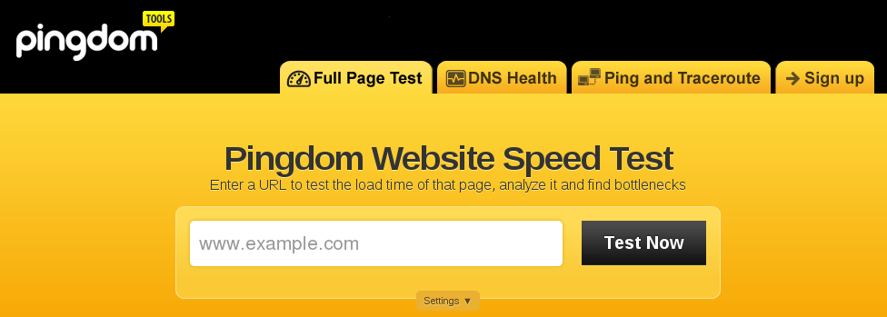 Pingdom Website Speed Test DOM based XSS